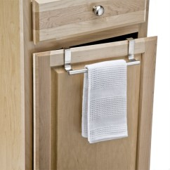 Kitchen Towel Bars Cheap Backsplash Tile Interdesign Forma Over The Cabinet Bar Container Store Overcabinet