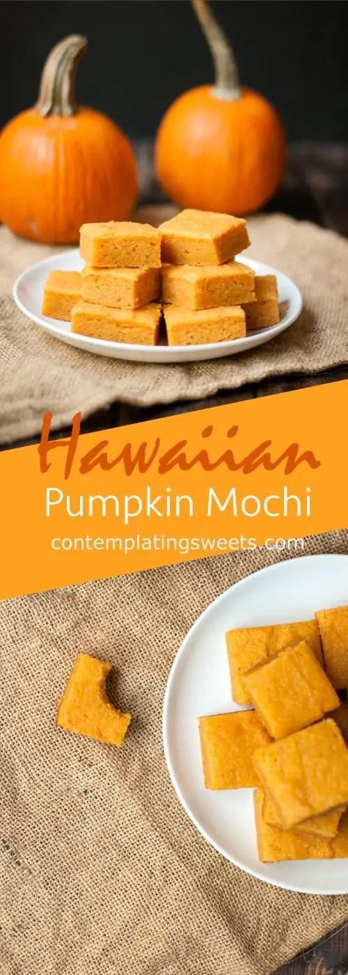 Hawaiian Pumpkin Mochi