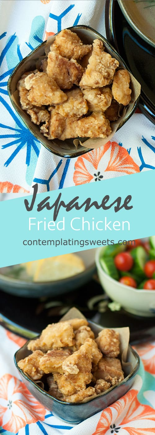 Japanese Fried Chicken- Karaage