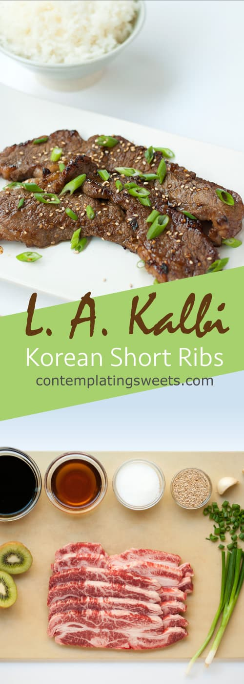 L. A. Kalbi- Korean Barbeque Short Ribs