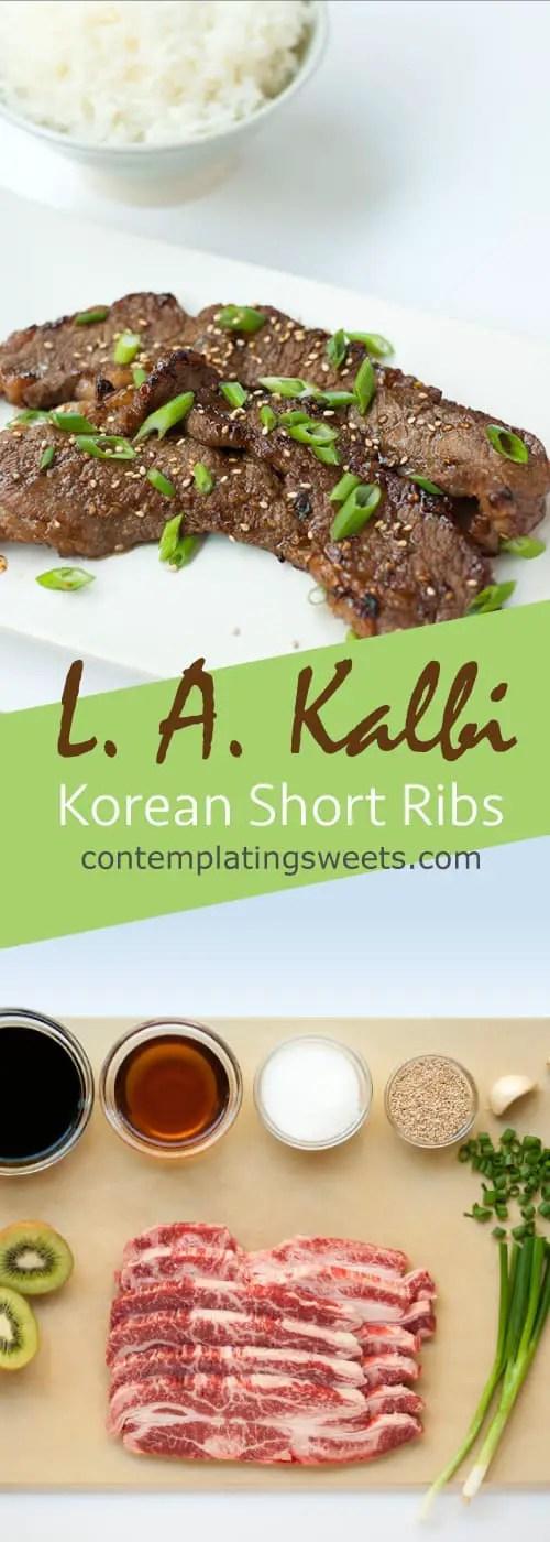 L. A. Kalbi- Korean Barbeque Short Ribs