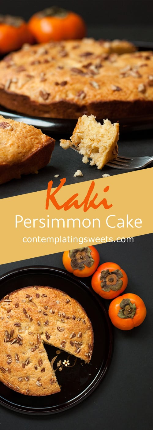 Fall Persimmon Cake