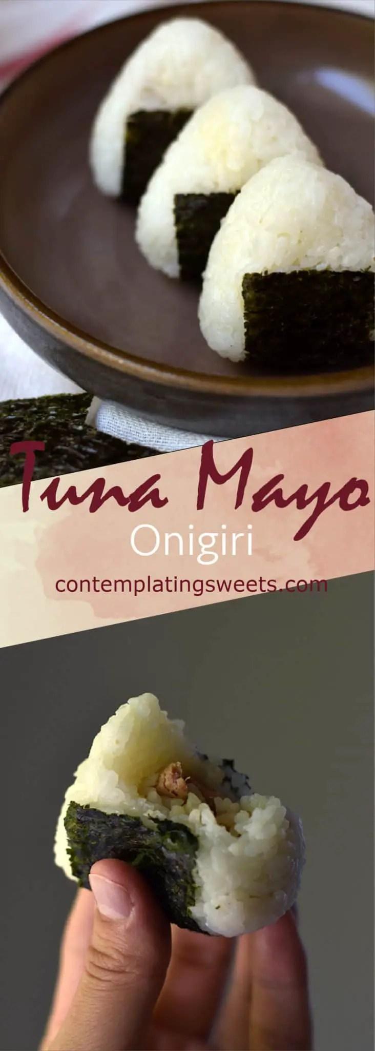 Tuna Mayo Onigiri | Contemplating Sweets