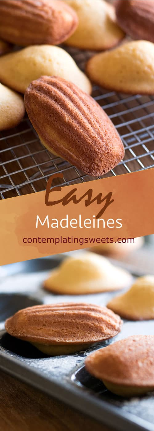 Madeleines are adorable seashell shaped butter cakes originating in France. They can be tricky to master, but this easy version uses baking powder to make them foolproof!