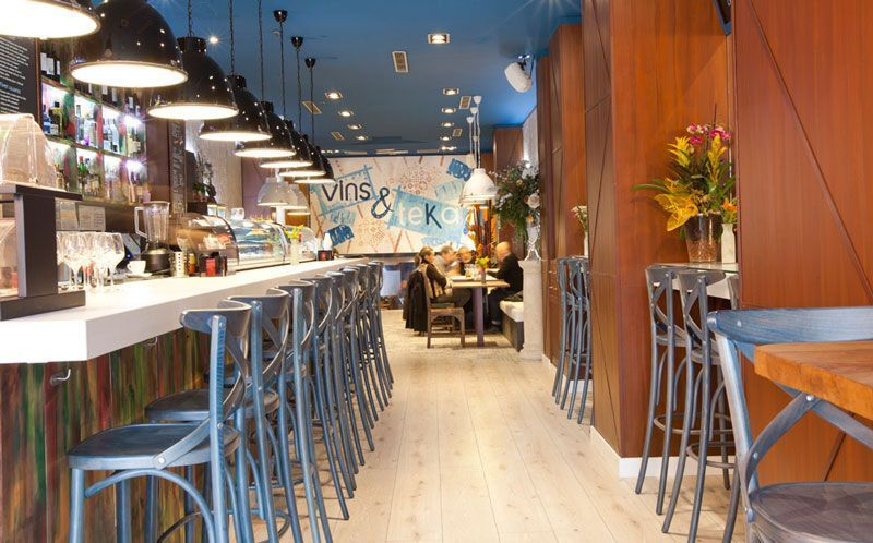 5 tendencias en decoracin de restaurantes  Contemporanea