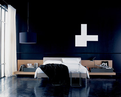 Charles Bed by B_BItalia From Contemporary Home
