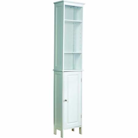 Dignity Tall Bathroom Unit in White