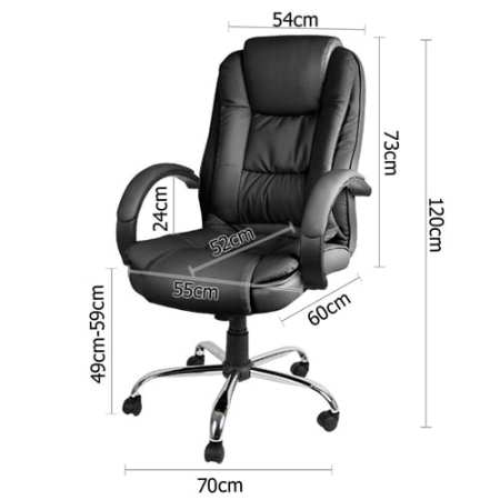 Executive Office Computer Chair Black