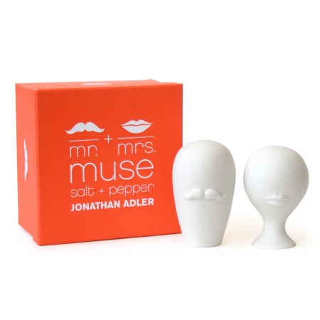 Mr and Mrs Muse Salt and Pepper Shakers | Jonathan Adler