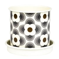 Orla Kiely Abacus Planter Pot | Grey