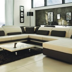 Cream Sofa Arm Covers Old World Set Ultra Modern And Black Leather Sectional Cp ...
