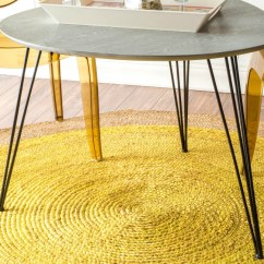 Yellow Living Room Rugs Upholstery Decoration Would You Dare