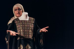 Al Harah Theatre performing at Welcome To The Fringe. Photo by David Monteith-Hodge.
