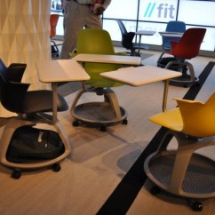 Steelcase Classroom Chairs Burgundy Accent Living Room Node Chair By At Neocon 2010 Contemporist The Show In Chicago Furniture Manufacturer Introduced A New Seating Product Called