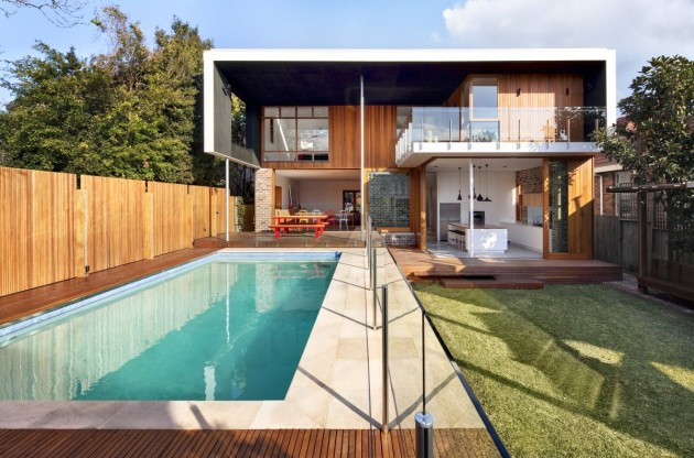 The Castlecrag Residence By CplusC Architectural Workshop