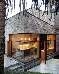 A Contemporary Brick Addition In Traditional Dublin ...