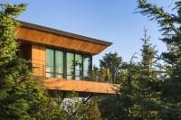 An Alaskan House On A Hillside Among The Trees   CONTEMPORIST