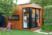 Inoutside Creates A Small Backyard Office | CONTEMPORIST