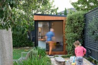 Inoutside Creates A Small Backyard Office | CONTEMPORIST