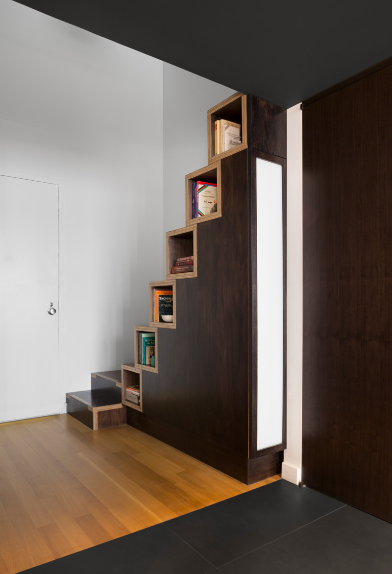 Design Detail Alternating Tread Staircase With Built In Storage CONTEMPORIST