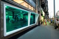 KISSMIKLOS Design A Storefront To Look Like An Aquarium ...