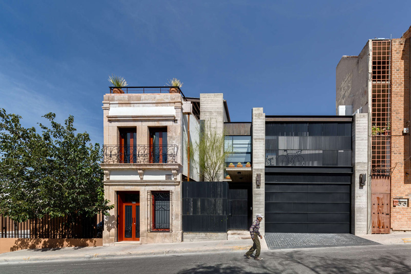 A Historic Building Is Restored And Given A Contemporary