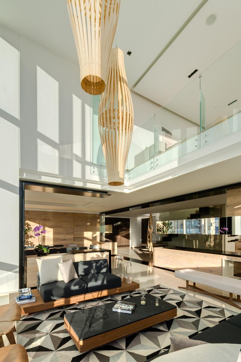 Archetonic Design The Interior Of An Apartment That Overlooks Mexico City  CONTEMPORIST