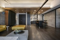 A Palette Of Wood, Metal, And Concrete For This Apartment ...