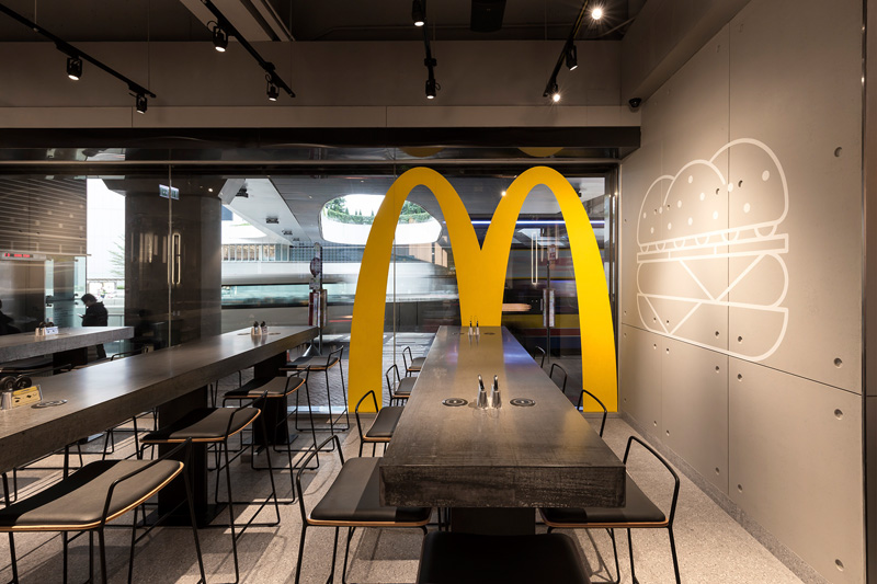 This is the most remarkably modern McDonalds weve ever
