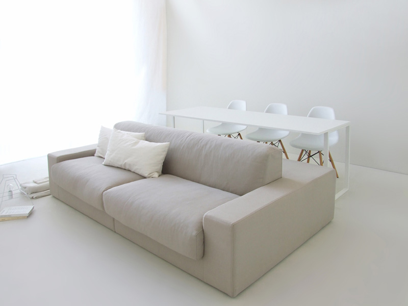 This Double Sided Sofa Is Designed For Living In Small Spaces