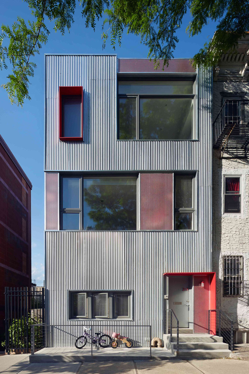 9 Examples Where Corrugated Steel Has Been Used As Siding  CONTEMPORIST