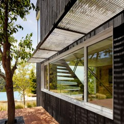 Pass Through Kitchen Window Small Apartment Ideas The New Addition To This House In California Is Clad ...