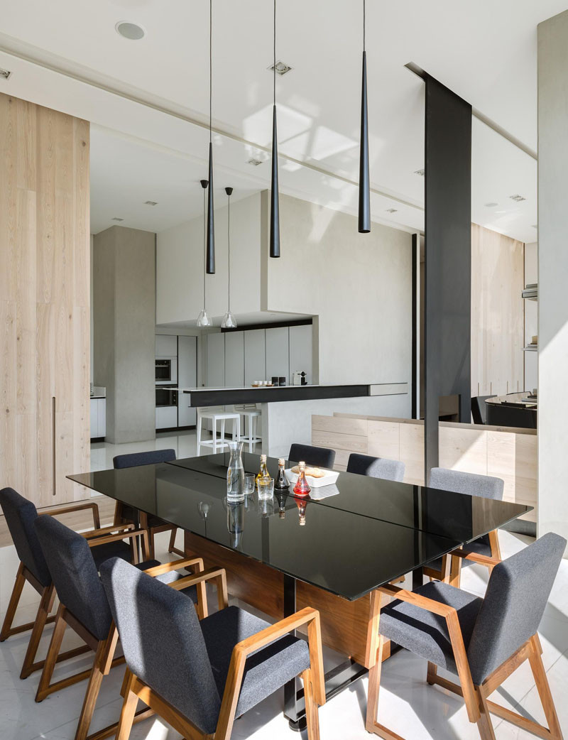 Heres how this apartments living area was divided into