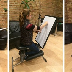Ergonomic Chair Kneeling Posture Mate Geri This New Desk Is Designed To Be Portable And Pop-up Wherever You Need One | Contemporist
