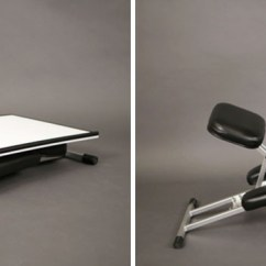 Folding Chair Desk Combo Posture Yoga This New Is Designed To Be Portable And Pop Up Wherever You The Edge A Foldable Ergonomic Easel