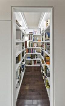 Narrow Walk-In Closet Idea
