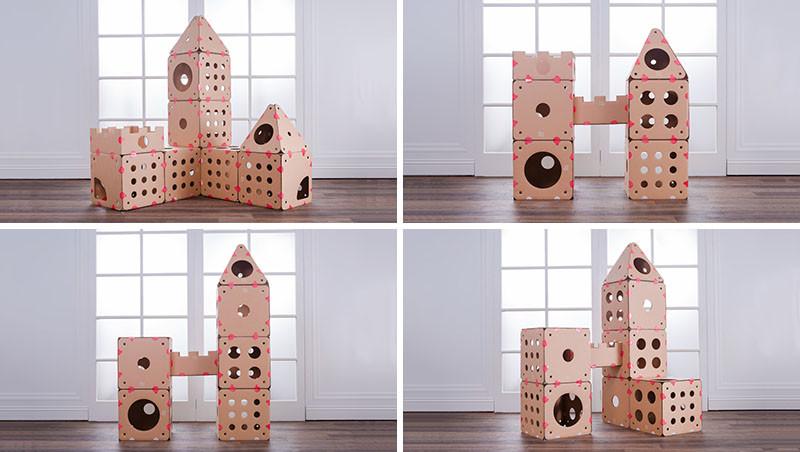 this modular cat house