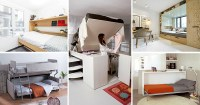 13 Amazing Examples Of Beds Designed For Small Rooms ...