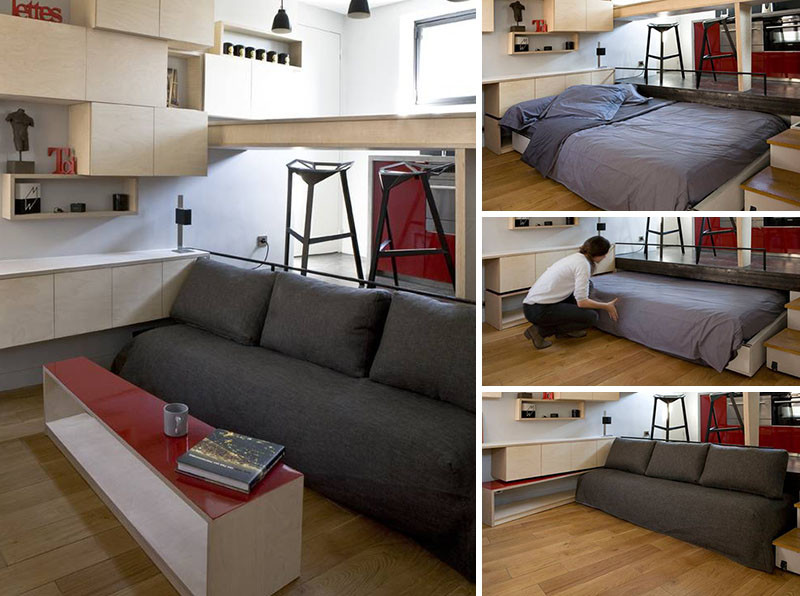 13 Amazing Examples Of Beds Designed For Small Rooms