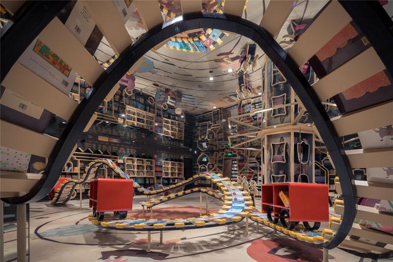 Zhongshuge Bookstore in Hangzhou, designed by XL-MUSE