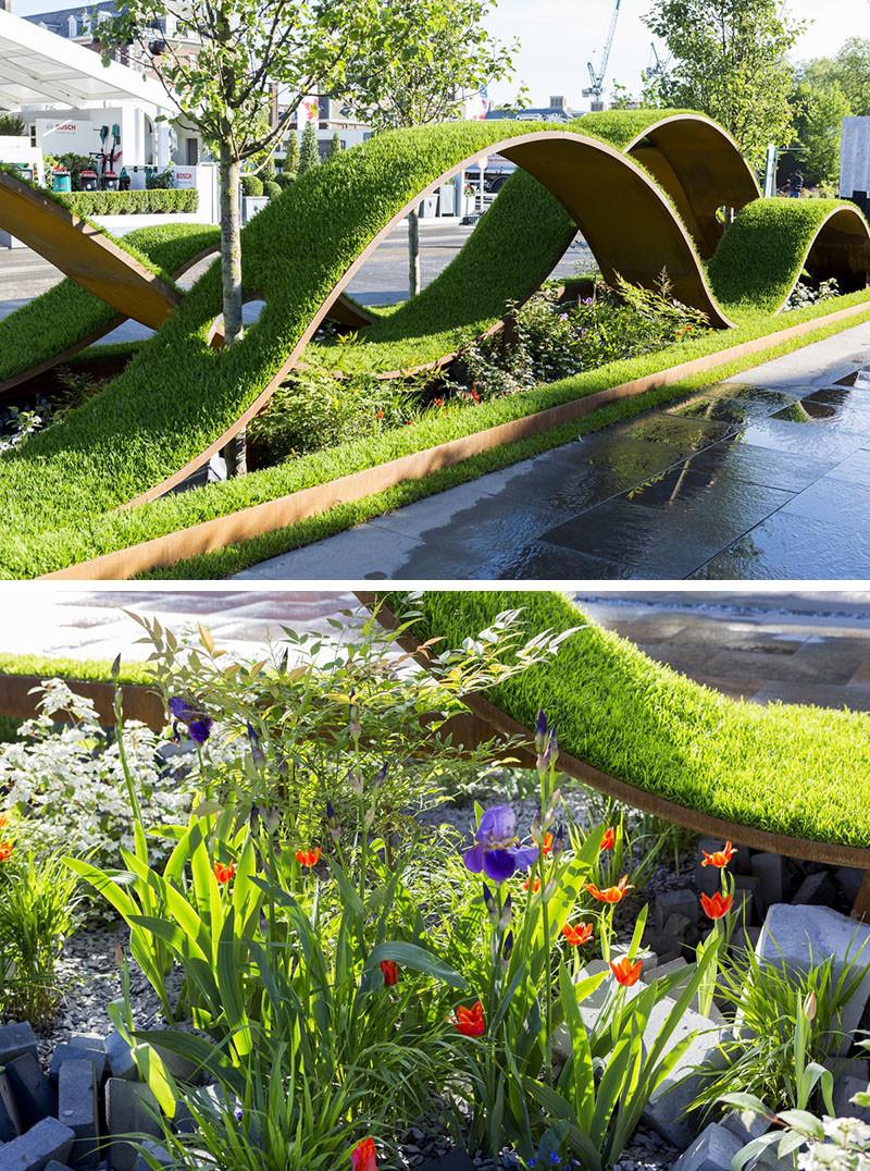 12 Inspirational Garden Designs From The 2016 Chelsea Flower Show  CONTEMPORIST
