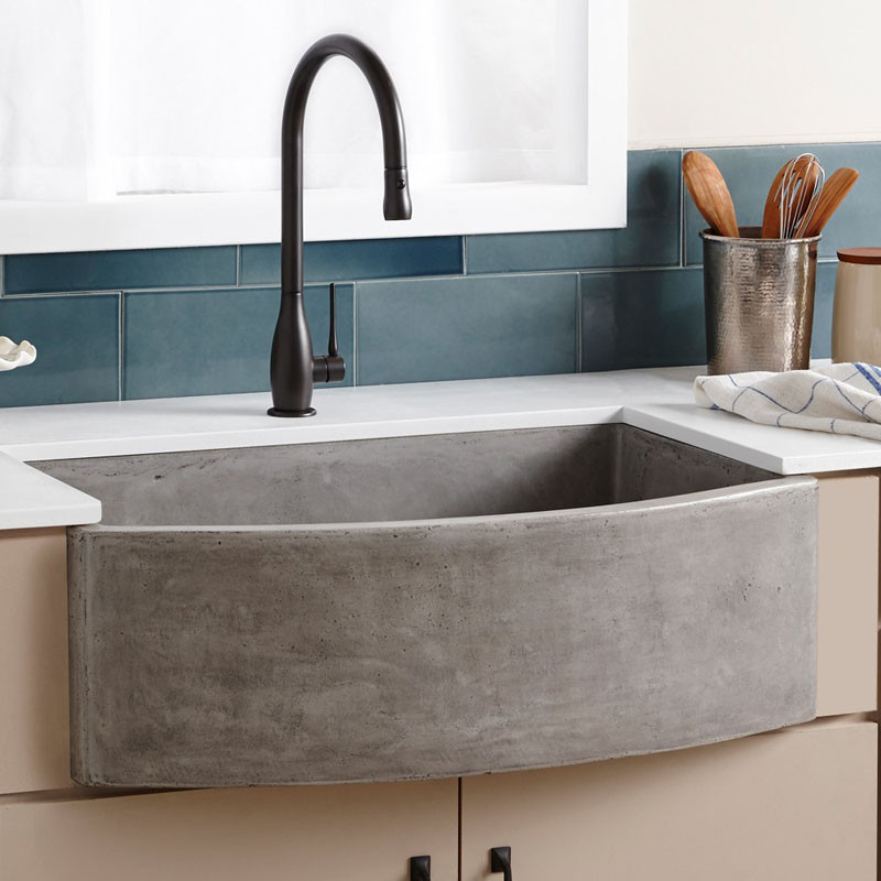 Never Let Anyone Tell You That Farmhouse Sinks Cant Be