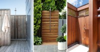 10 Excellent Examples Of Outdoor Shower Designs | CONTEMPORIST