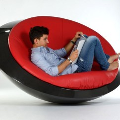 Adult Saucer Chair For 2 Month Old This New Rocking Has A Flying Inspired Design | Contemporist