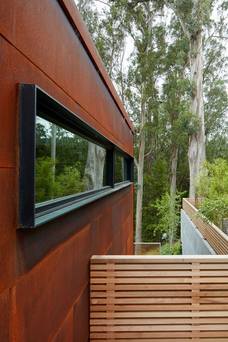 This New Home Lives On A Steep Hillside Just Outside Of