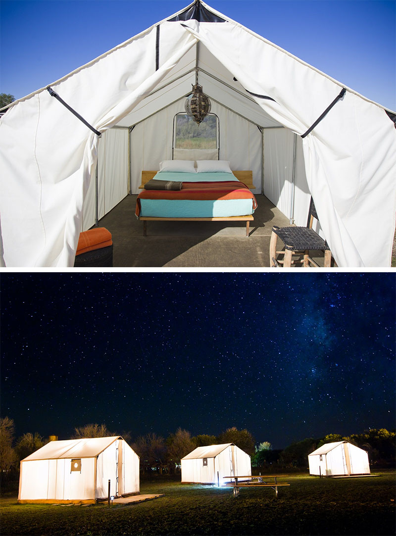 10 Glamping Destinations For People Who Want to Go Camping But Need