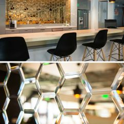 Kitchen Backsplash Panels Sink Faucet Repair 19 Ideas For Using Hexagons In Interior Design And ...