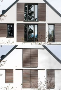 Modern Exterior Window Shutters