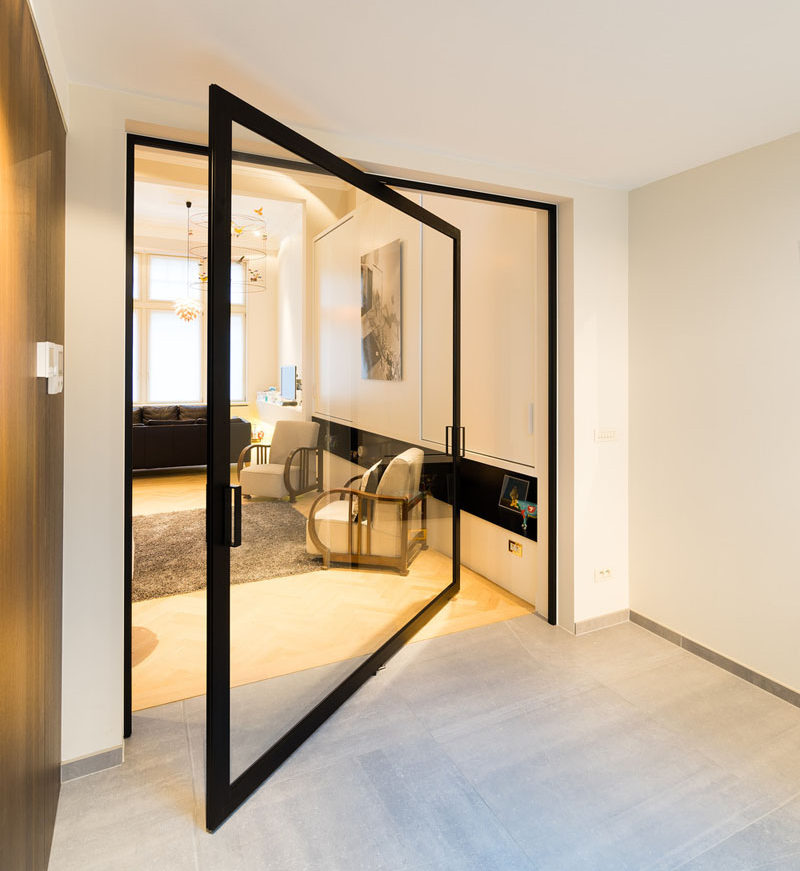 These Large Pivoting Doors Are Designed To Revolve 360