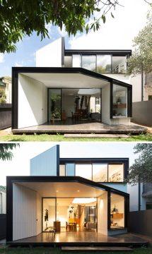 Christopher Polly Design Angular Rear Extension